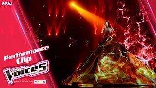 ไอซ์ - ไม้ขีดไฟกับดอกทานตะวัน - Live Performance - The Voice Thailand - 29 Jan 2017