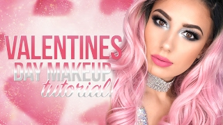 ★Valentines Day Smokey Silver Eye   Maybelline Products   Victoria Lyn Beauty