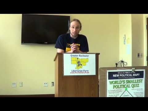 Greater Rochester Libertarian Party (GRLP) Annual Convention - Christopher Edes