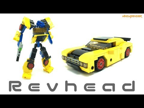 Lego Transformers by M1NDxBEND3R - Revhead