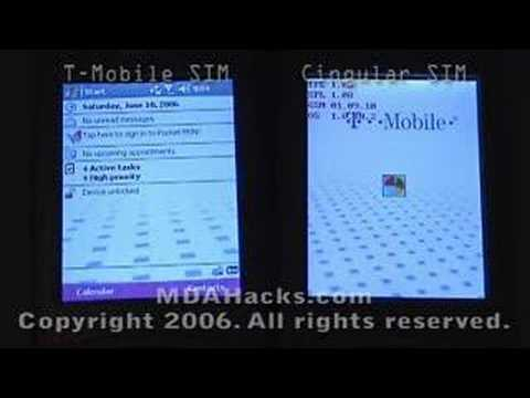 T-Mobile MDA with T-Mo and Cingular SIMs - Part 3 of 3