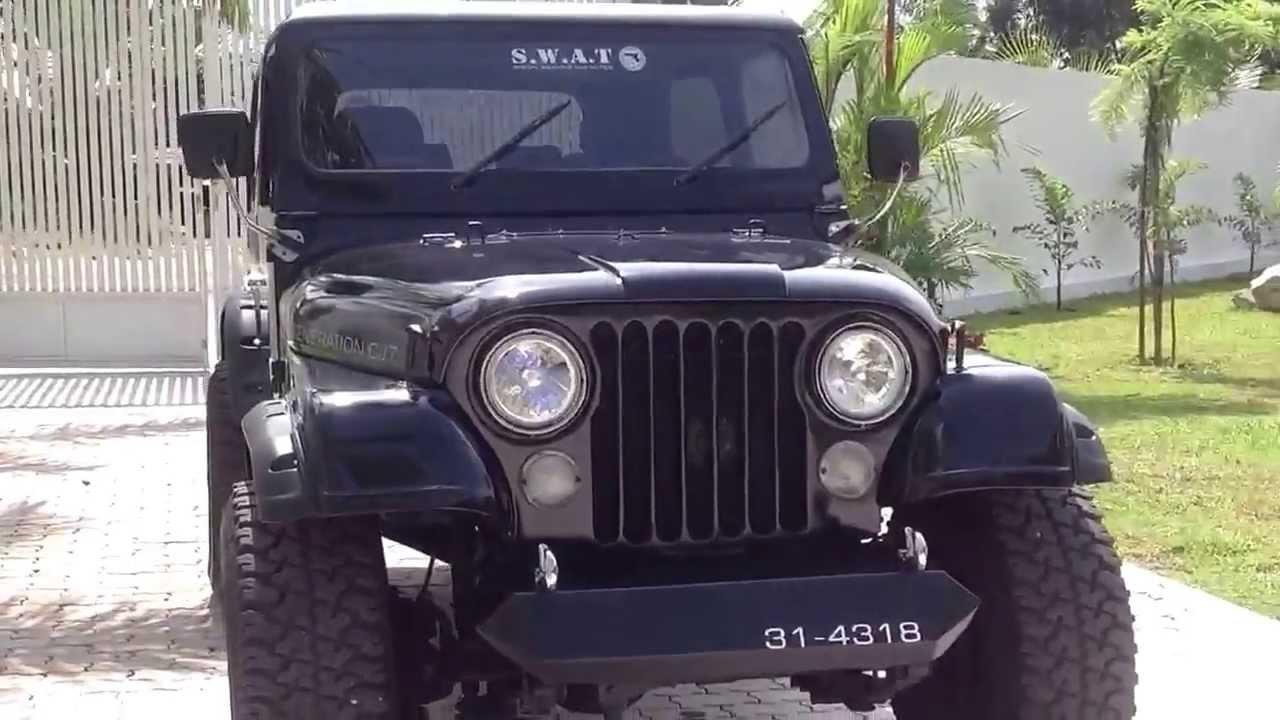 Jeep For Sale Sri Lanka: Jeep CJ 7 Buddhika
