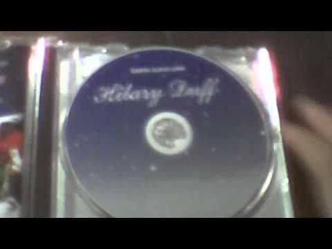 Hilary Duff Santa Claus Lane Cd Unboxing