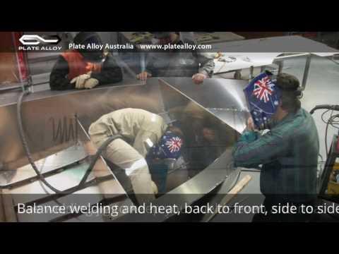Building a Plate Alloy (Aluminium) Boat