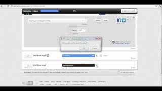 Youtube - How to cancel an upload