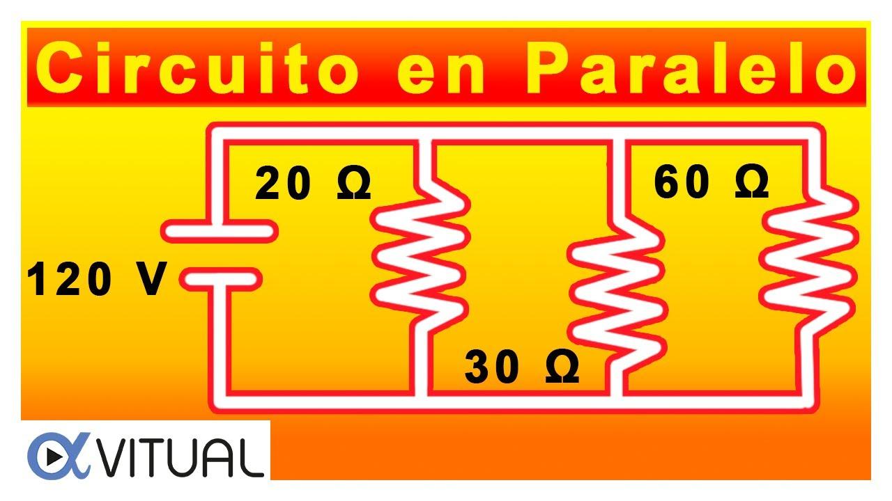 💥Cómo resolver un CIRCUITO Eléctrico en PARALELO