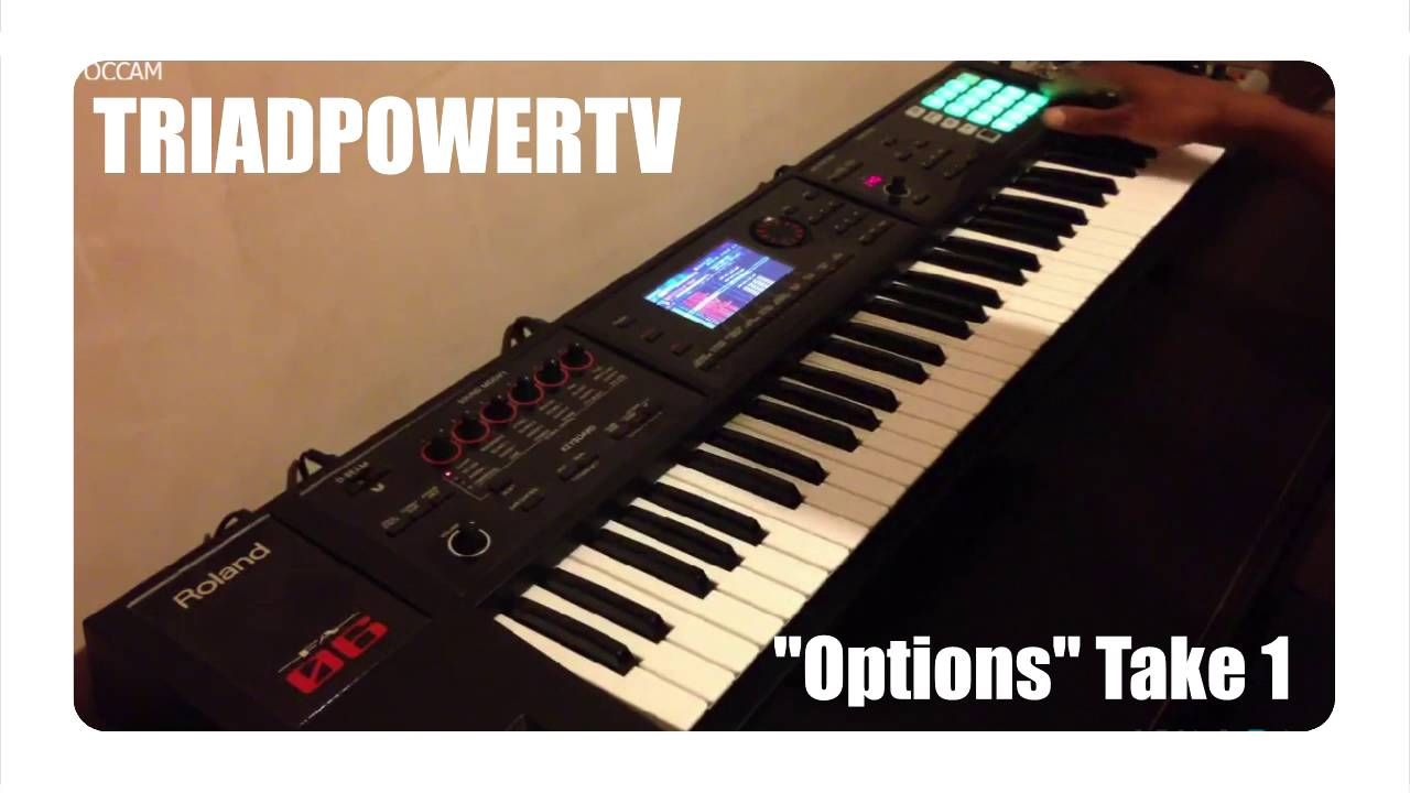"""Rap/Trap/EDM Beat - """"Options"""" - Live Looping on the Roland"""