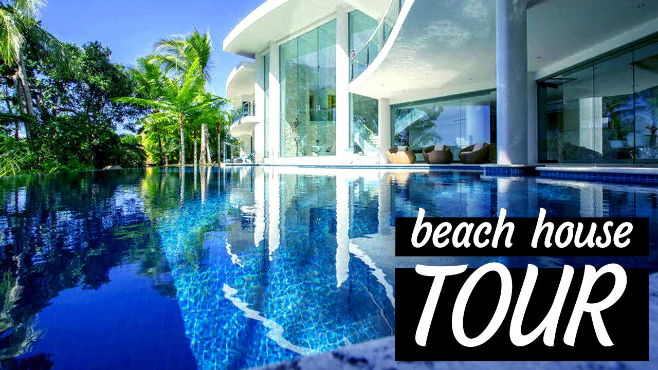 Beach house tour youtube for Video home tours