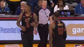 cavaliers jr smith costs cavs game 1 of nba final with late game mistake