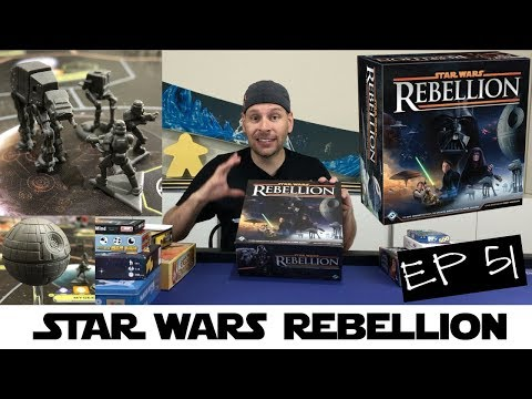 Star Wars Rebellion Review - Ep 51: This Week in Board Games