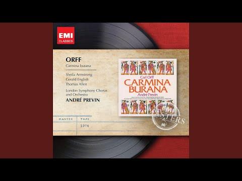 "Carmina Burana: Part 4, Blanziflor et Helena, No. 24 ""Ave formosissima"" (Chorus)"