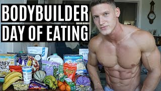What a Bodybuilder Eats in a Day | IIFYM Full Day of Eating