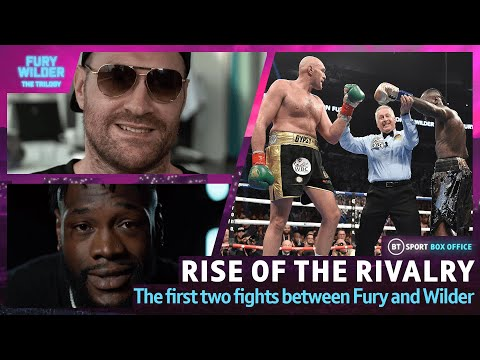 Rise Of The Rivalry: Tyson Fury And Deontay Wilder | The Story Of The First Two Fights