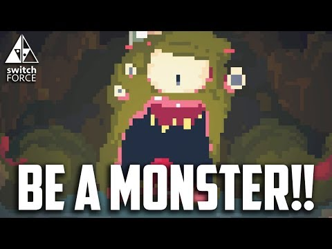 BE A MONSTER!! Nintendo Switch Crawl Gameplay - Local Multiplayer