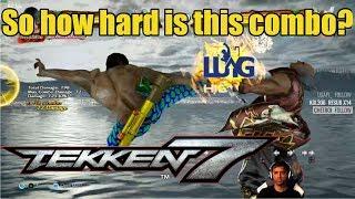 This Law combo isn't really hard - Rip tests the mechanics on Tekken 7 Marshall Law