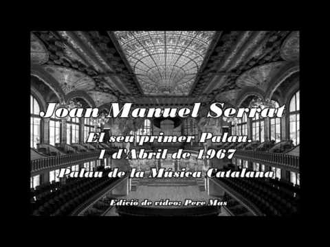Joan Manuel Serrat   Palau de la Música Catalana 1967