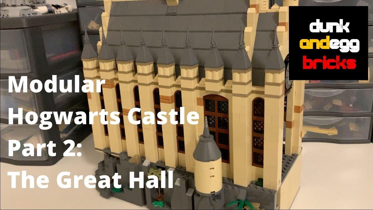 Download LEGO Harry Potter Hogwarts Castle MOC, Part 2 - The Great Hall