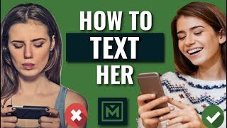 How to Text a Girl You Like -14 MUST KNOW Rules To Texting A Girl