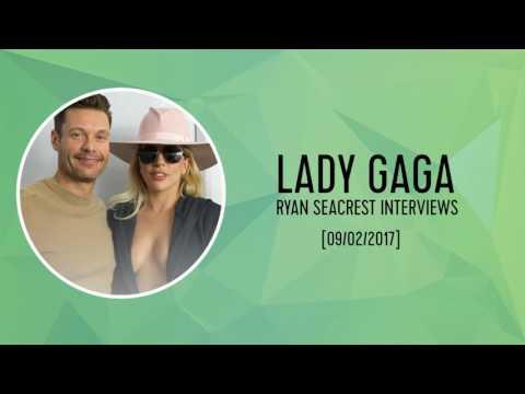 Ryan Seacrest Interviews Lady Gaga
