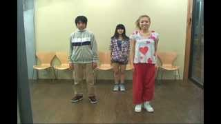 NHKみんなのうた4-5月放送曲「HEART BEAT」振り付け解説動画 レッスン2