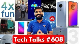 Tech Talks #608 - Samsung 4 Camera Phone, iPhone Xs Booking, Pixel 3XL, Fly Robot, Moto G7 Plus, Jio
