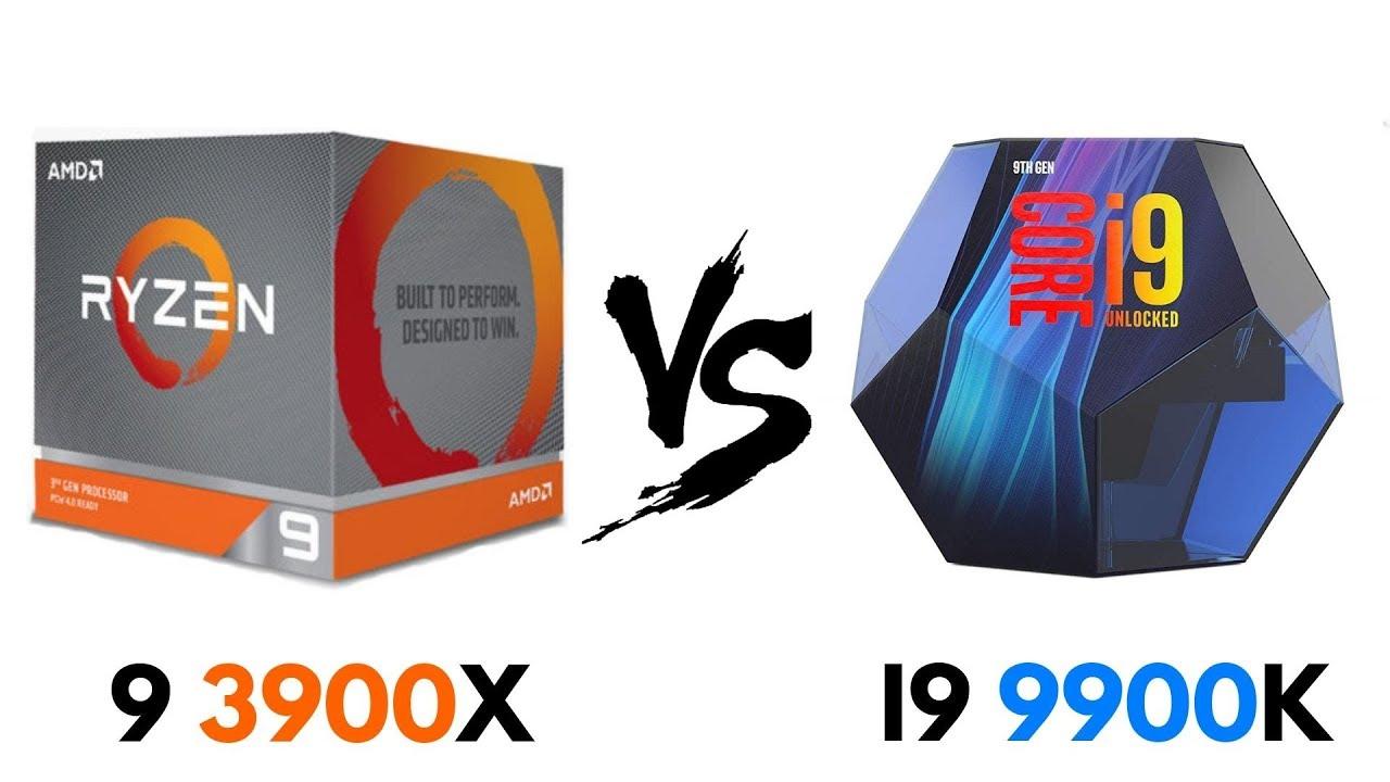 Ryzen 9 3900X vs i9 9900K | Test in GAMES & BENCHMARKS | i9 9900K vs Ryzen  9 3900X
