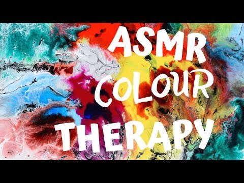 Colour Therapy ASMR for your Complete Relaxation with RAINDROPS and