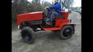Самодельный трактор на продажу по цене мотоблока  Прилуки