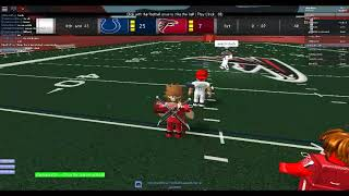 Playing Roblox Football Legends ELITE QB/KR