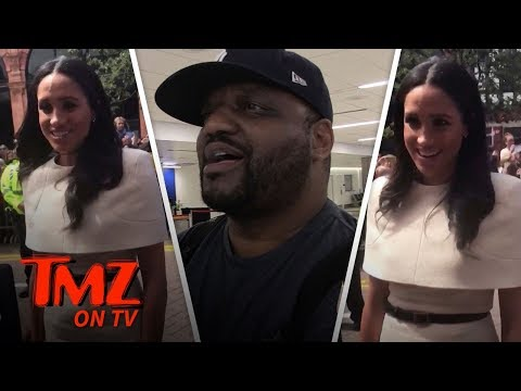 Meghan Markle's New Faux Accent Has People Talking | TMZ TV