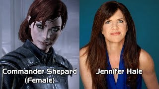 Characters and Voice Actors - Mass Effect 3 (Updated)