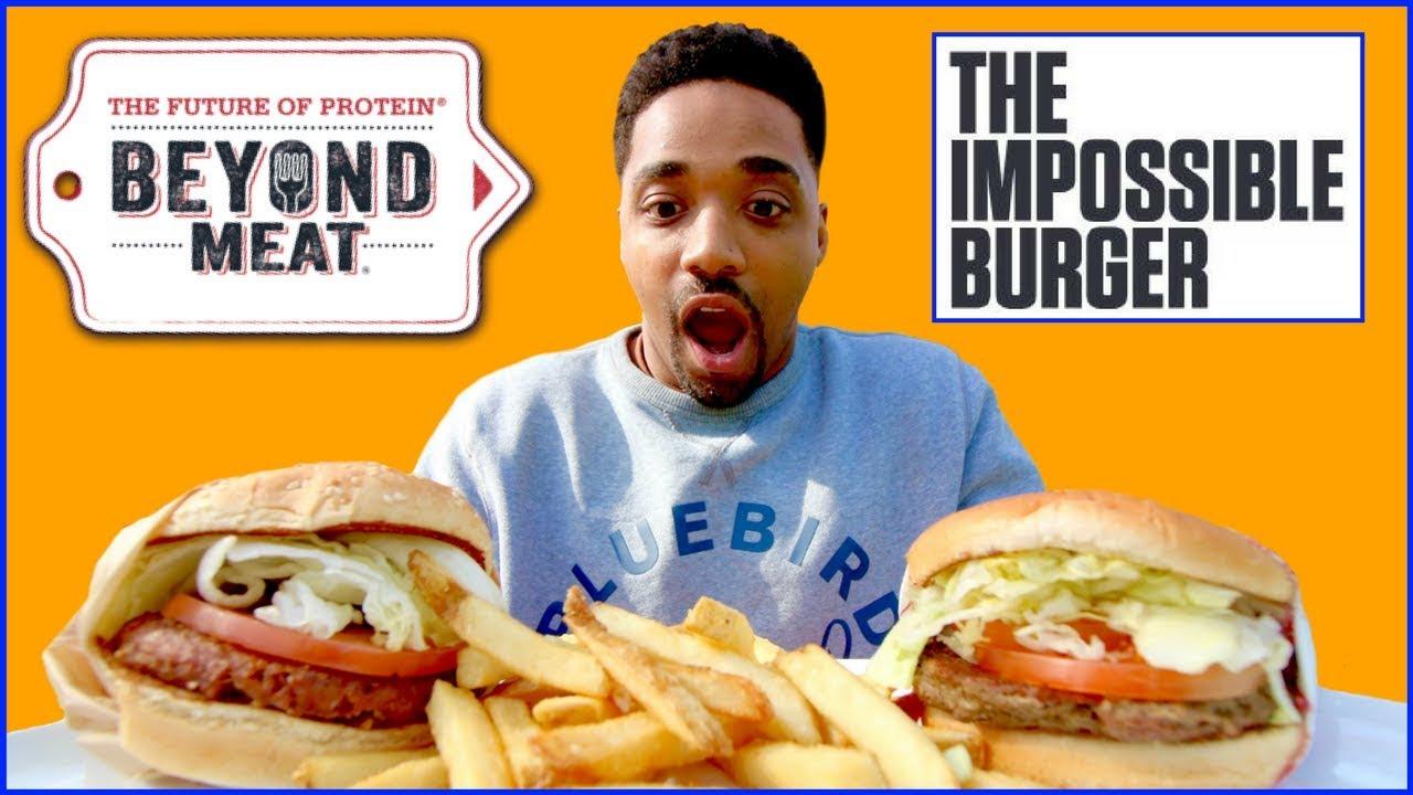 beyond burger vs impossible burger vegan burger taste. Black Bedroom Furniture Sets. Home Design Ideas