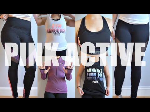 c8dc5f8f155d1 Victoria'S Secret Pink Active Haul,Try On, & Review - YT