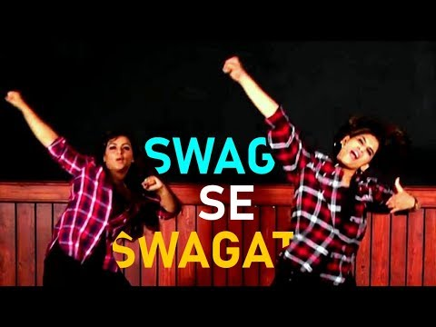 Zumba Workout On Swag Se Swagat Song |Tiger Zinda Hai Movie Songs | Choreographed By Vijaya Tupurani