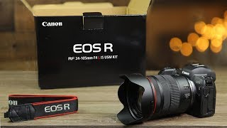 Canon EOS R Unboxing & First Impressions