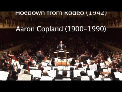 Hoedown from Rodeo 1942 Aaron Copland, Music at Emory University 20152016