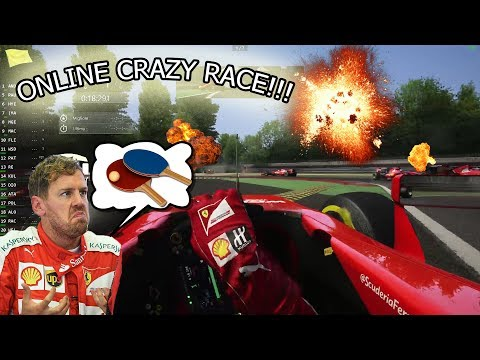 ASSETTO CORSA | SF15-T/ MONZA ONLINE! RACING OR PING PONG?!?!