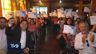 De Requínoa y Pencahue Central: 40 familias recibieron sus subsidios habitacionales