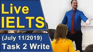 IELTS Live - Task 2 Writing - Band 9 Structure