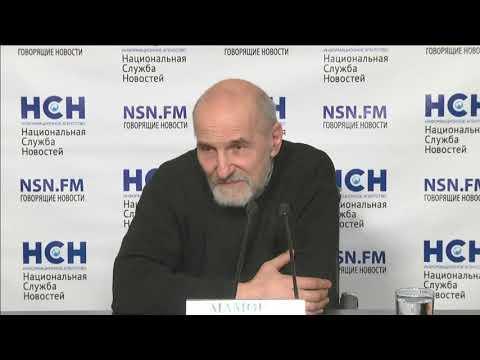 Пресс-конференция Петра Мамонова