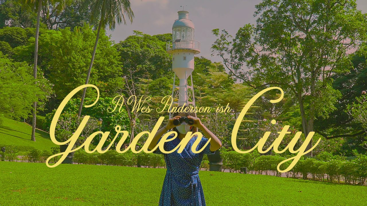 A Wes Anderson-ish Trip Around Garden City Singapore