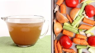 How To Make Vegetable Stock - Laura Vitale - Laura in the Kitchen Episode 1023