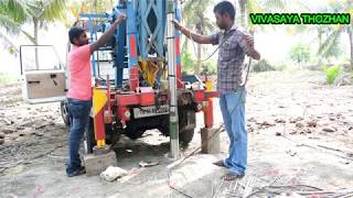 BOREWELL TEST MOTOR FITTING AND EXPLANATION from Saravana Engineering