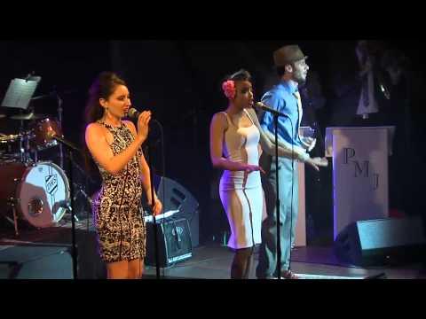 "Scott Bradlee & Postmodern Jukebox "" Blurred Lines"" June 10, 2014 at The Hamilton Live"