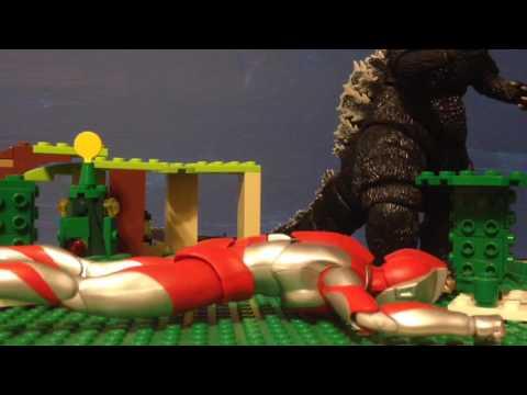 Godzilla vs Ultraman
