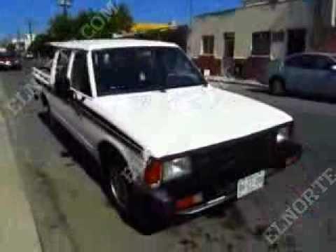 NISSAN Doble Cabina 93 blanco 4p Est 100km $35.5M - YouTube