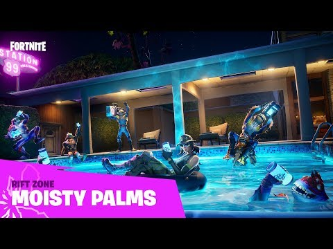 Latest 'Fortnite' Patch Updates Moisty Mire and Greasy Grove
