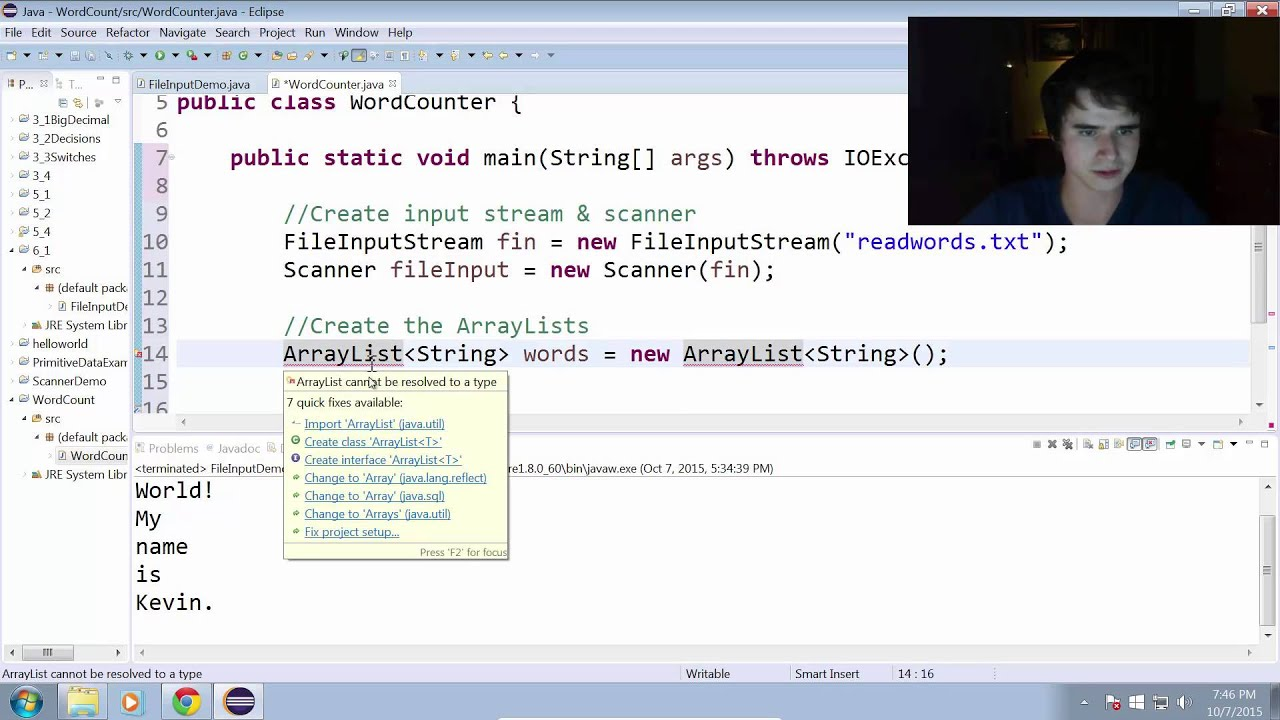 how to create a programme in word