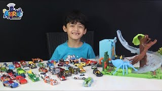 Mainan Anak || Hot wheels city spider park attack