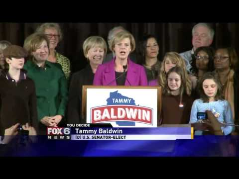 Tammy Baldwin wins Senate seat